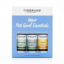 Tisserand Feel Good Essential Oils 3 x 9ml