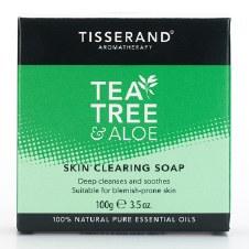Tisserand Tea Tree & Aloe Clearing Soap 100g