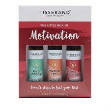 Tisserand Little Box Of Motivation 3 x 10ml