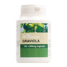 Rio Amazon Graviola 500mg 120 vcaps