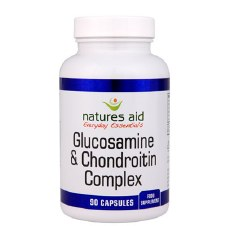 Natures Aid Glucosamine & Chondroitin Comp 90 capsules
