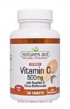 Natures Aid Vitamin C 500mg Sugar Free Che 50 tablet