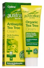 Optima  Org Tea Tree Antiseptic Cream 50 ml