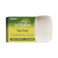 Optima   Org Tea Tree Cleansing Soap 90g