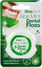 Aloe Dent A/Dent Aloe Vera Dental Floss 1pack