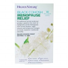 Higher Nature Black Cohosh for Menopause 30 tablet