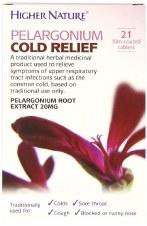 Higher Nature H/NATURE PELARGONIUM COLD RELI