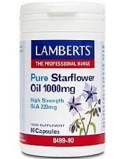 Lamberts Starflower Oil 1000mg 90 capsules