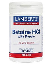 Lamberts Betaine HCl 180 tablets