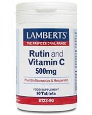 LAMBERTS RUTIN & VITAMIN C 500mg 90