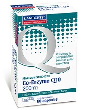 Lamberts Co Enzyme Q10 200mg 60 Tablets