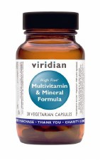 Viridian HIGH FIVE Multivitamin/Mineral 30 vcaps