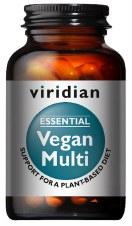 Viridian Essential Vegan Multi 30 Caps