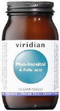 Viridian  Myo-Inositol & Folic Acid 120g