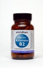Viridian HIGH TWO Vitamin B2 with B 90 90
