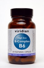 Viridian HIGH SIX Vitamin B6  30 vcaps