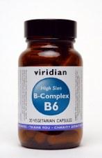 Viridian HIGH SIX Vitamin B6  30 vcaps