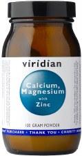 Viridian  Calcium Mag with Zinc Powder 100g