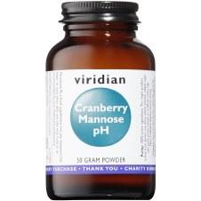 Viridian   Cranberry Mannose pH 50g