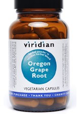 Viridian Oregon Grape Root Extract  90 vcaps