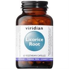 Viridian Licorice Root 60 Capsules