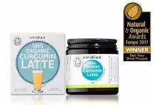 Viridian 100% Organic Curcumin Latte 30g