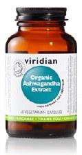 Viridian Organic Ashwagandha 60caps 60 VCaps