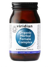 Viridian Organic Herbal Female Complex 90 Vaps