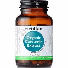Viridian Organic Curcumin Extract 30 Capsules