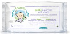 Earth Friendly Baby Gentle Aloe Vera Wet Wipes 72wipes
