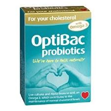 Optibac Probiotics For Your Cholesterol 30 + 30 capsule
