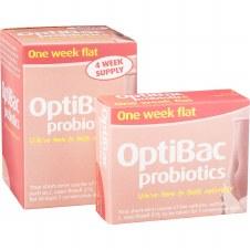 Optibac Probiotics One Week Flat 28 sachet