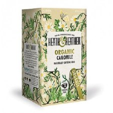 Heath And Heather Organic Camomile Herbal Tea 20bag