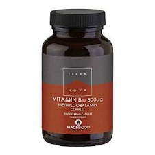 TerraNova Nutrition Vitamin B12 500ug  100