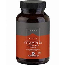 TerraNova Nutrition Vitamin D3 2000iu  100
