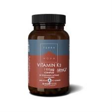 Terranova Nutrition Vit D3 2000iu & K2 100ug 50 capsules
