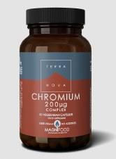 TerraNova Nutrition Chromium 200ug Complex   50caps