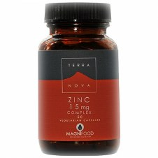 TerraNova Nutrition Zinc 15mg Complex   50 vcaps