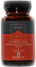 TerraNova Nutrition Dandelion Artichoke & Cysteine 50 vcaps