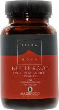 TerraNova Nutrition Nettle Root Lycopene & Zinc    100 vcaps