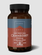 TerraNova Nutrition Cranberry 300mg   50 vcaps