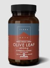 TerraNova Nutrition Olive Leaf 450mg   50 caps