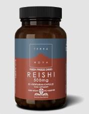 TerraNova Nutrition Reishi 500mg   50 vcaps