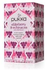 Pukka Herbs Elderberry & Echinacea Tea 20 sachet