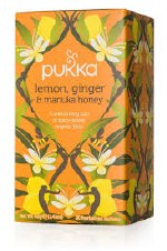 Pukka Herbs Lemon Ginger Manuka Honey Tea 20bag