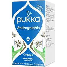 Pukka Herbs Organic Andrographis  30 caps