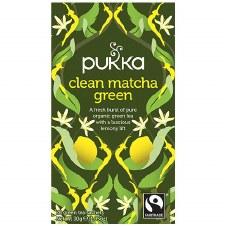 Pukka Herbs Clean Matcha Green Tea 20 sachet