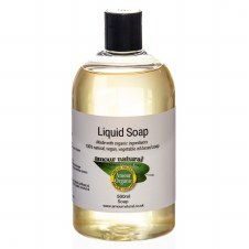 Amour Natural Liquid soap made with organic  Single item only No Cases
