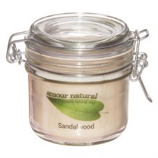Amour Natural Aroma Candle Sandalwood