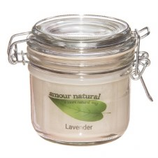 Amour Natural Aroma Candle Lavender
